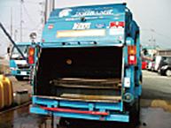 産廃回収車における使用事例