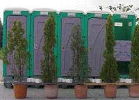 仮設トイレにおける使用事例
